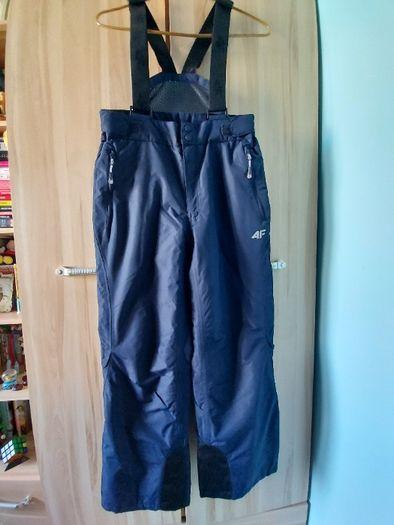 Spodnie narciarskie chłopięce 4F. Rozmiar 152