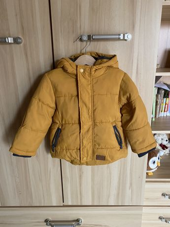 Pikowana kurtka zimowa dla chłopca