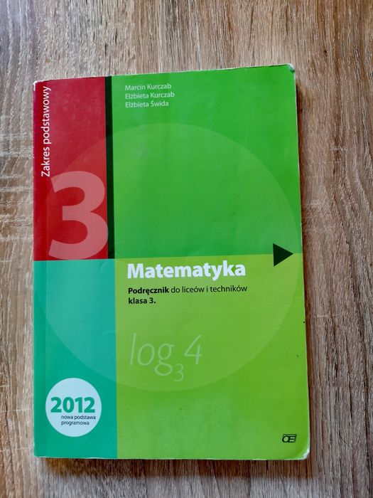 Matematyka. Podręcznik do liceów i techników. Klasa 3 Warszawa - image 1