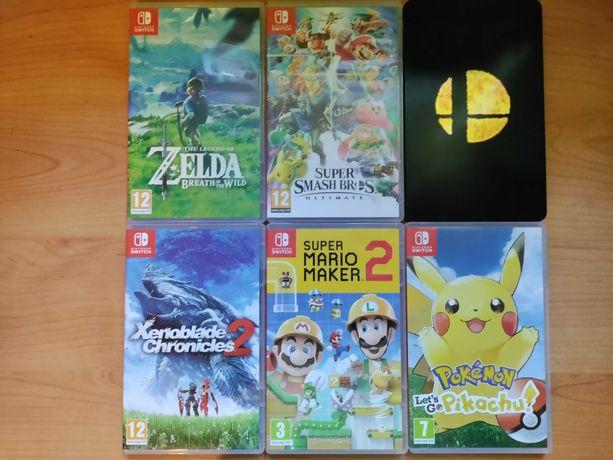 Jogos para a Nintendo Switch
