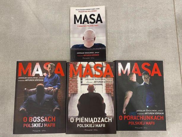 Masa o polskiej mafii - 4 książki
