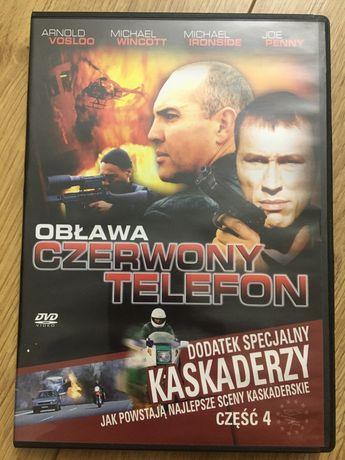 Płyta DVD czerwony telefon