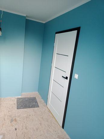Nowe drzwi 80 Lewe Voster Vinci 10 + ościeżnica regulowana + klamka