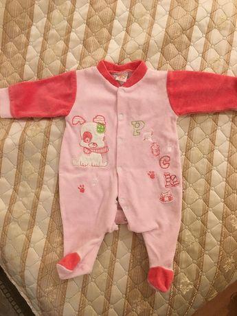 Одежда для девочки 3-6 месяца