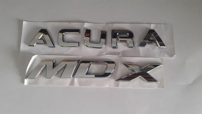 Надпись значок эмблема Acura MDX шильдик на багажник