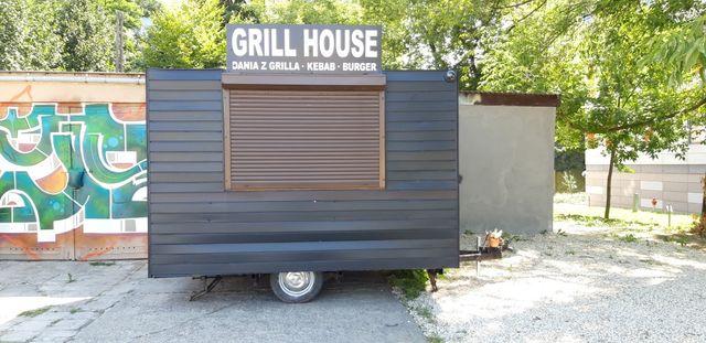 Przyczepa Gastronomiczna Food Truck Z Odbiorem Sanepidu Gotowy Biznes