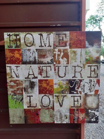 Quadro/Tela Impressa - Home Nature Love