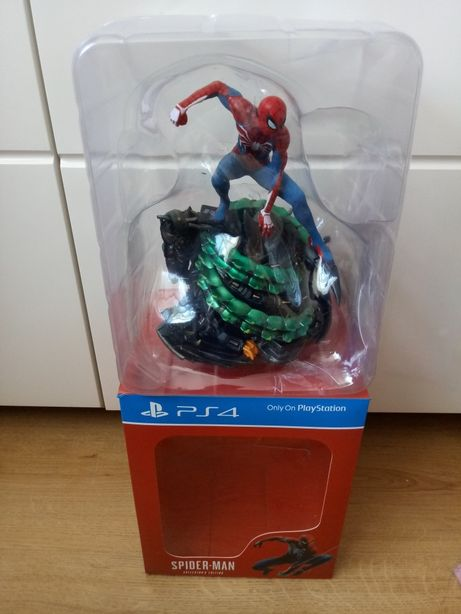 Spider Man ps4 figurka kolekcjonerska rarytas.