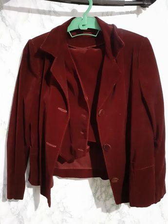 Школьная форма/костюм/пиджак, жилетка, юбка