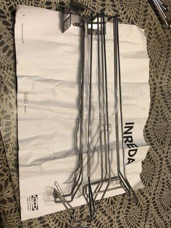 Uchwyt na kieliszki do powieszenia w szafce IKEA INREDA