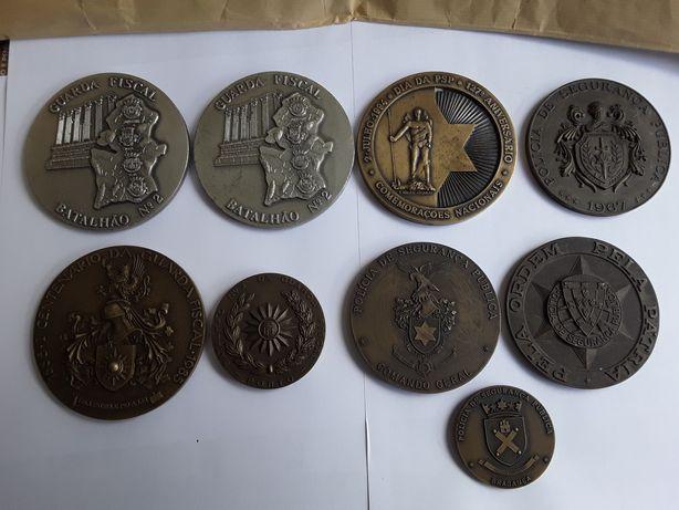Medalhas da Guarda Fiscal e da Polícia