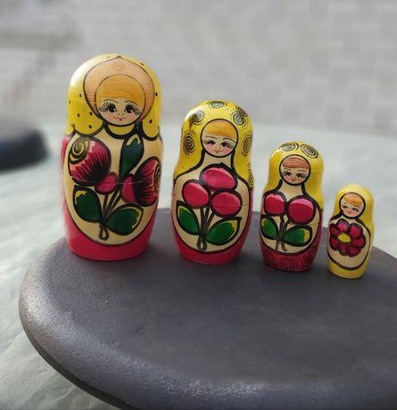 Куклы деревянные *Матрёшки* СССР