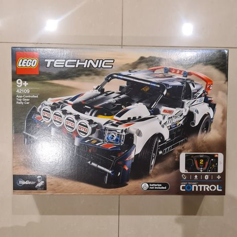 LEGO® Technic™ (42109) App-Controlled Top Gear Rally Car NOVO