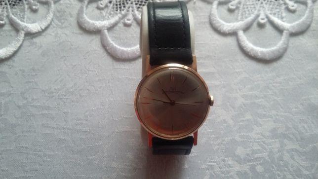 zegarek złoty ŁUCZ