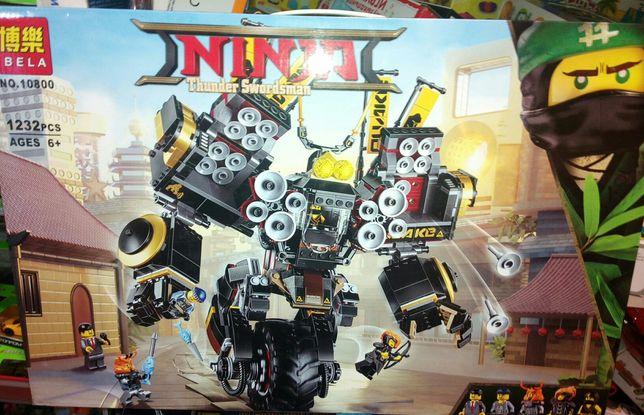 Конструктор типа LEGO BELA Ninja Ninjago Робот Землетрясения 1232 дет.