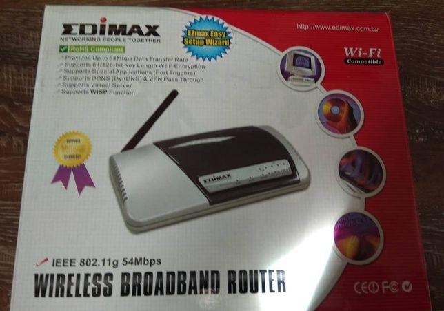 NOWY Router do internetu Wi-Fi EDIMAX 802.11g