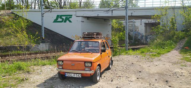 Polski Fiat 126p 1984 r 84000km 2 właściciel faktura zakupu