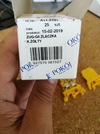 Złączka ZUG-G4 kolor żółty