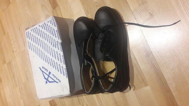Buty robocze skórzane olejo odporne roz.48