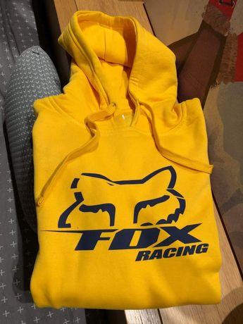 Nowa bluza z kapturem z logo Fox Racing