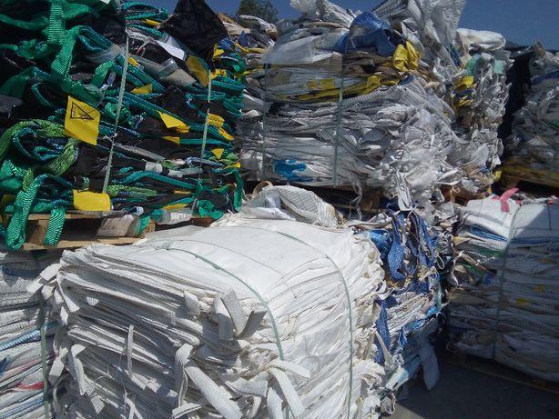 Worki Big Bag 90/90/170cm z wkładką foliową do kiszonki CCM Kukurydzy