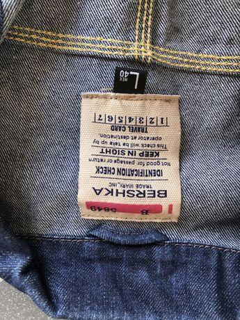 Мужская рубашка BERSHKA размер L