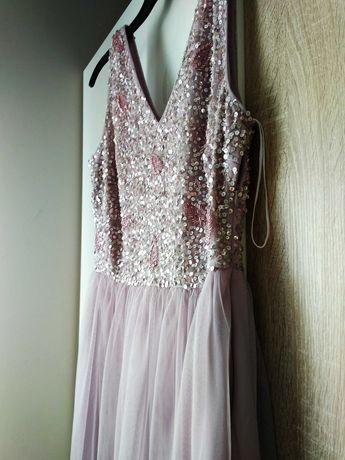 Długa suknia rozm. 38