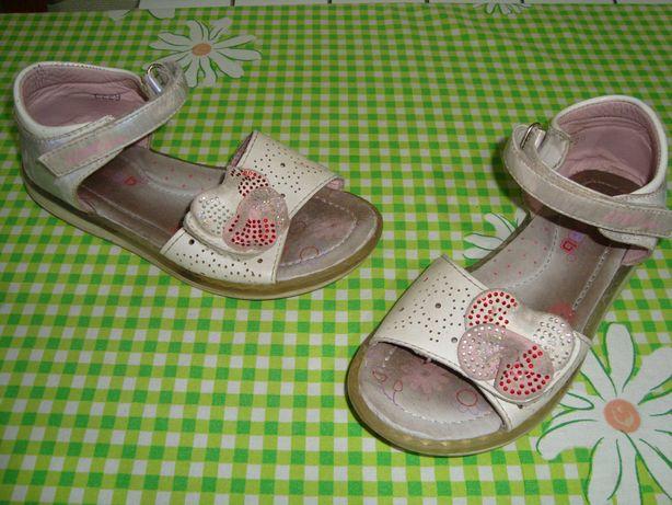 Босоножки для девочки ортопедические р 31 сандали на липучке