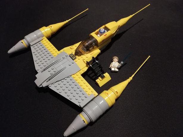 LEGO star wars statek z naboo. Unikat! Unikalna figurka młodzik Anakin