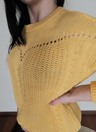 Bluzka damska żółta