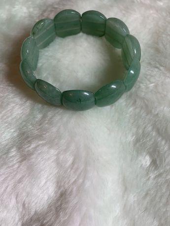 Браслет нефрит(почечный камень)
