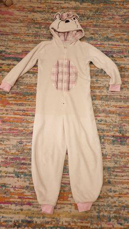 Piżama ciepła Miś roz. 128 GRATISY