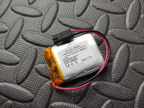 Akumulatory Bateria Li-Po, Li-Poly 650mAh 3.7V