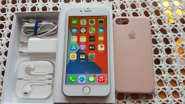 Apple iPhone 6S 64GB SILVER w idealnym stanie
