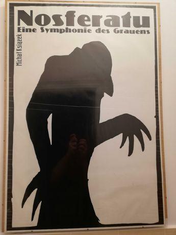 Duży plakat Nosferatu Michał Książek + antyrama