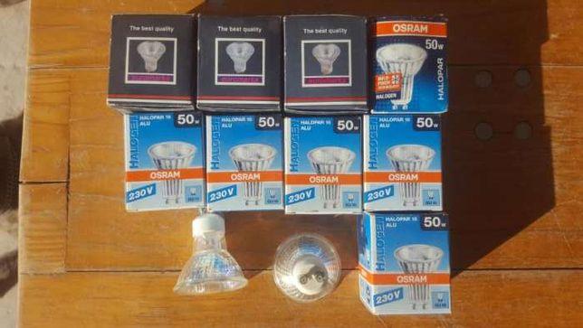 Lampadas de halogeneo 50W - 230V