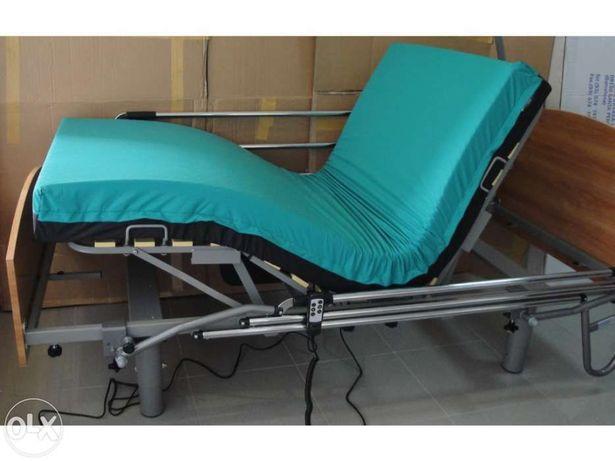 Cama hospitalar elétrica articulada NOVA (somos uma loja)