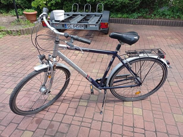 Rower Pegasus aluminiowa rama , do pomajsterkowania .