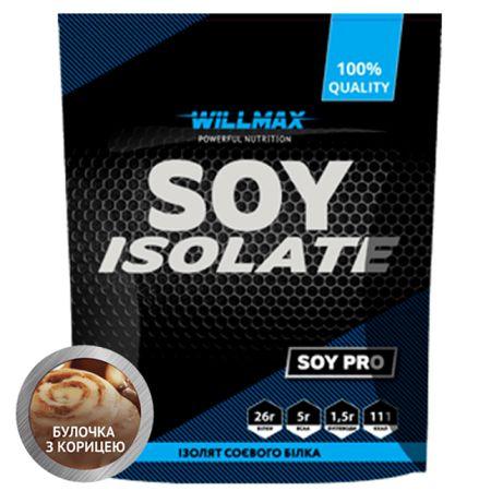 Соєвий протеїн SOY ISOLATE Willmax 900 г