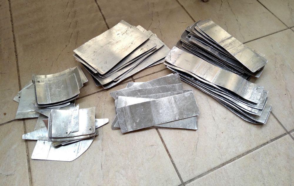 Титановые пластины для рыцарских доспехов / Защитного жилета / Щитки Львов - изображение 1