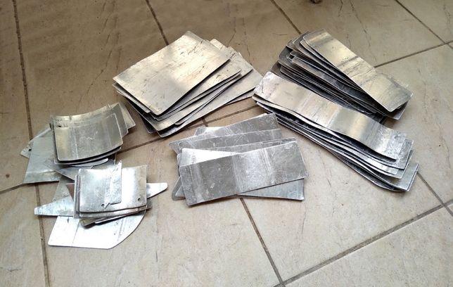 Титановые пластины для рыцарских доспехов / Защитного жилета / Щитки