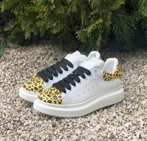 Trampki niskie Alexander McQueen Oversized White/Leopard