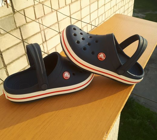 Crocs Кроксы крокси сандали crocband  12-13/29-30
