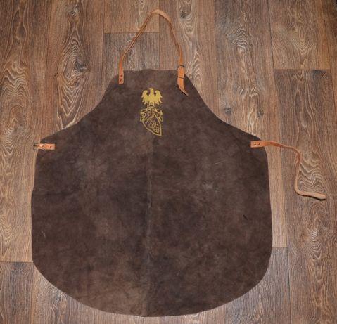 Кожаный фартук для бармена, бариста, повара, флориста, кальянщика и т.