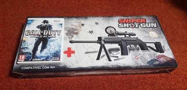 Wii : Call of Duty + Sniper Shot Gun