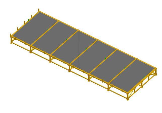 NOWY - stół do produkcji domów szkieletowych/stół montażowy/szkielet