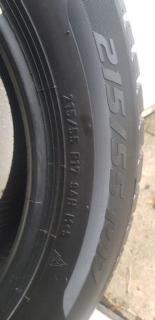 Opony zimowe 215/55/17 r17 7m Pirelli Sottozero 3 4szt