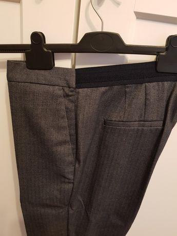 Spodnie ZARA materialowe XL