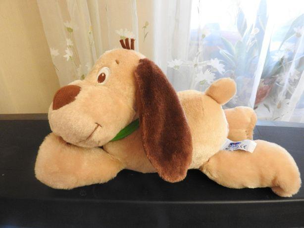 Игрушка мягкая интерактиваная собака пес Chicco лает храпит іграшка