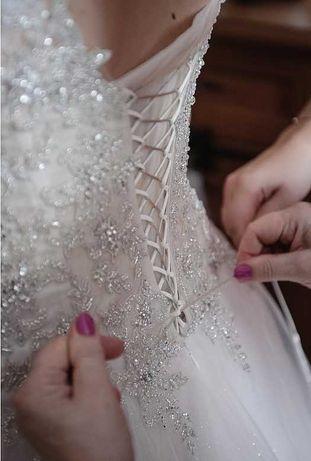 suknia ślubna rozmiar 40-46